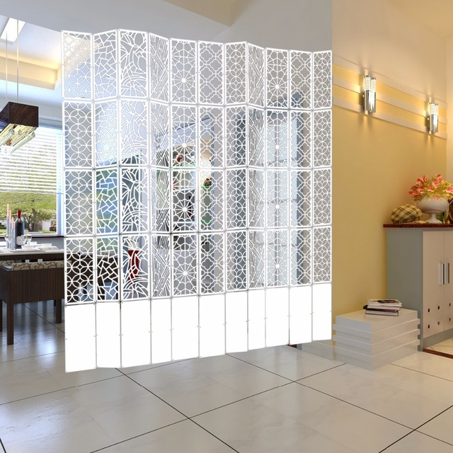 Hanging Screen Home Living Room Dining Partition Ornaments Biombo Folding Paravan Screens