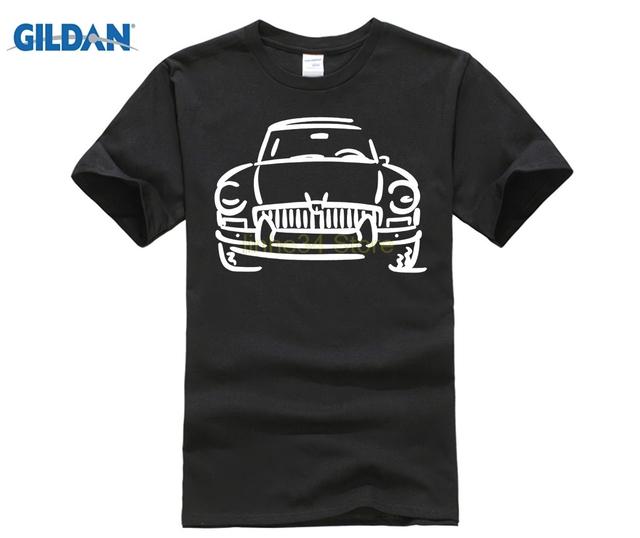 GILDAN GILDAN Casual Short Sleeve Tshirt Novelty Mgb Gt Mg British English Roadster Sportscar T-shirt
