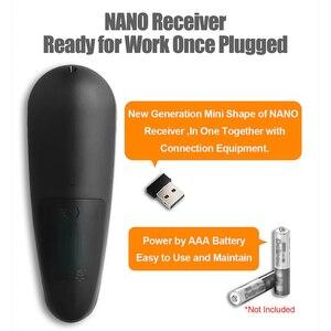 Image 2 - G30S Voice Control 2.4G Wireless Air Mouseคีย์บอร์ดสำหรับGyroscope Motion SensingรีโมทคอนโทรลMINIสำหรับAndroid TVกล่องH96