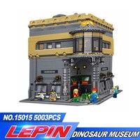 DHL Лепин 15015 5003 шт. город создатель динозавра музей MOC Модель Строительство Наборы Кирпич игрушка совместимы Рождественские подарки