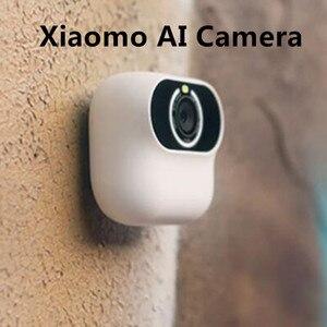 Image 1 - Xiaomi xiaomo ai 카메라 미니 카메라 13mp cg010 자기 초상화 지능형 제스처 인식 무료 촬영 각도 캠 스마트 app