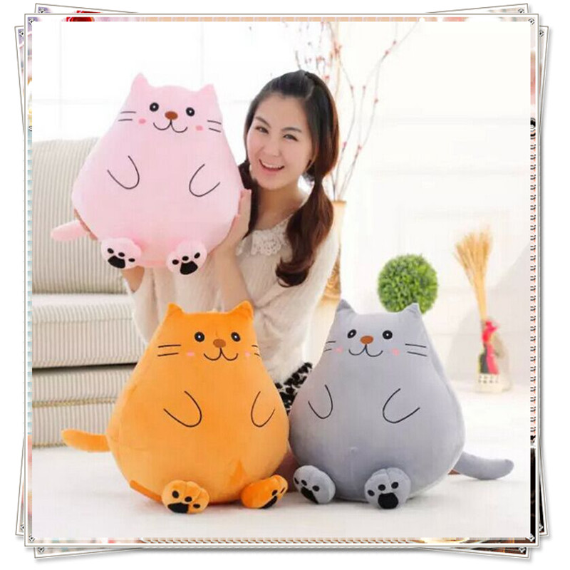 Hello kitty Creative cat Ty plush animals plush spongebob toys for children soft toys licorne  birthday gifts  stuffed animals free shipping plush tongue funny cat cat expression a birthday present love cats the gifts of men and women