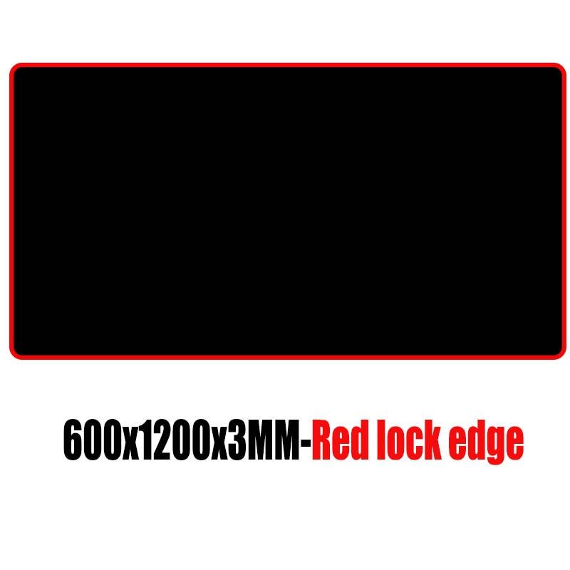Mairuige brand 1200*600*3MM large size black gaming mouse pad PC digital mechanical keyboard laptop pad USB trackball speed  mat 1