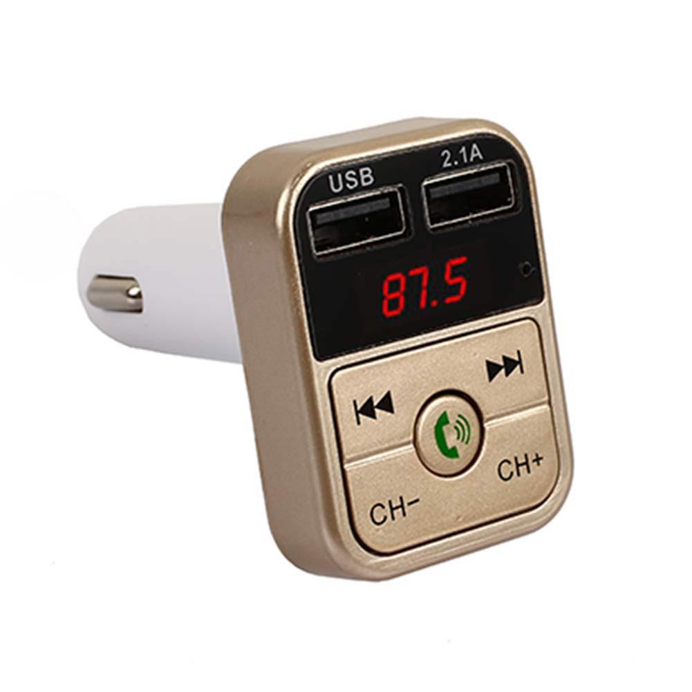 Bluetooth аудио приемник 2,1+ EDR Беспроводной bluetooth-приемник микрофон музыка универсальный автомобильный комплект громкой связи - Формат цифровых медиаданных: Golden