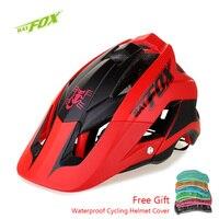 BATFOX Professionelle MTB Fahrrad Helm Atmungsaktive Sicherheit Integral Geformten Ultraleicht Fahrrad Helm Sport Racing Radfahren Helm-in Fahrradhelm aus Sport und Unterhaltung bei