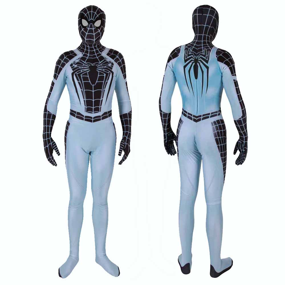 The Spider Man Negative Suit Cosplay Costume Zentai Men Women Kids BALL PS4 Spiderman Superhero Bodysuit Suit Jumpsuits