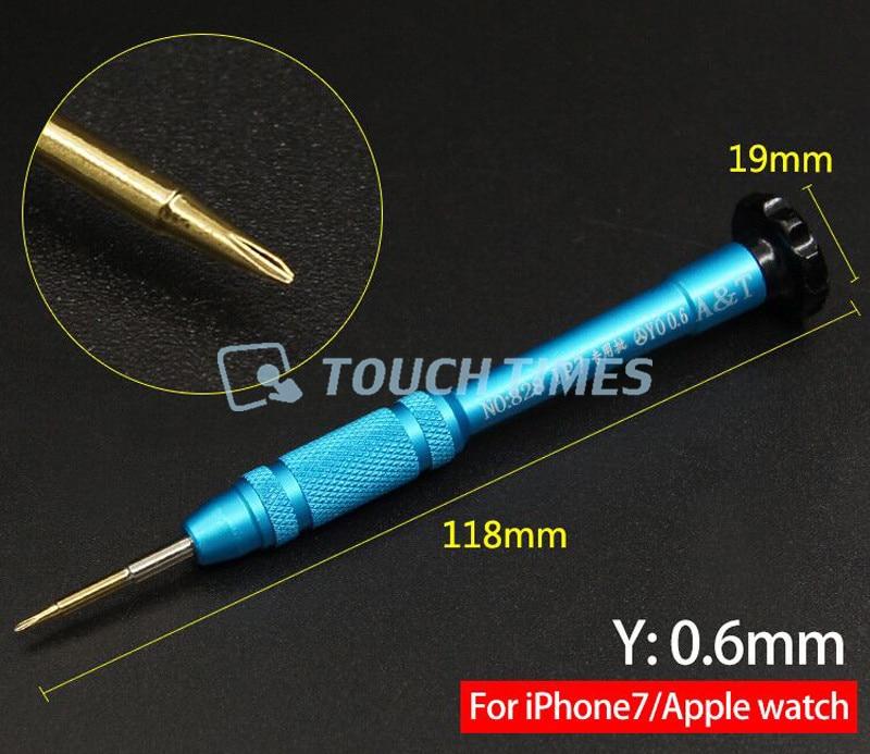 0.8mm Star Pentalobe Screwdriver 2.5mm Hex+0.6mm Tri Wing+Y Tip Phillips 2.5mm