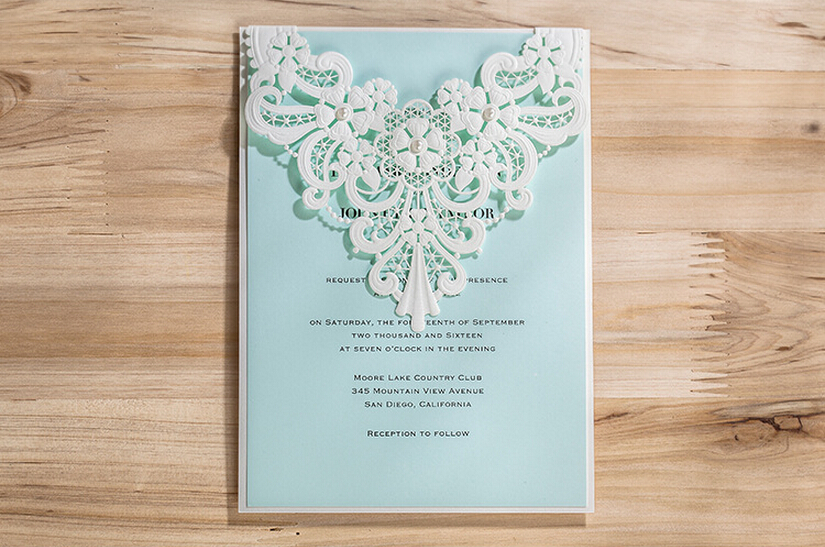 Buy Wedding Invitations: Aliexpress.com : Buy White Laser Cut Wedding Invitation