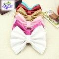 8 colores de cuero zapatos arco clips tienda de decoración accesorios Del Zapato zapato charm clip material N673