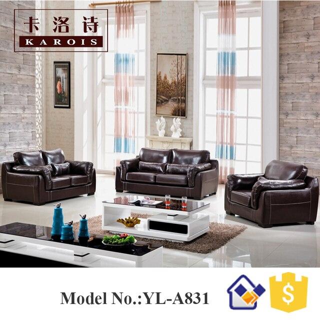 Maharaja Möbel Echt Leder Wohnzimmer 123 Sitzer Sofa Set