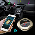 Fashion Car MP3 Player Kit Golden Music Q7 Support FM Transmitter Wireless Bluetooth Aux with USB Port for Charging #ET855