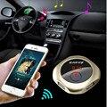 Kit de Coche Reproductor de MP3 de la manera Golden Music Apoyo Q7 FM Transmisor Inalámbrico Bluetooth Aux con USB Puerto de Carga # ET855