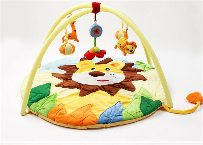 2017 Hot Baby Toy Tapete Infantil Educational Crawling Mat Music Game Play Gym Blanket Lion Carpet 0-1 Year HG6949 bluetooth адаптер orico orico bta 403 белый