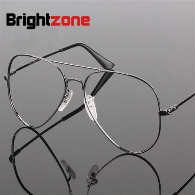 7a2f9cf8c37 Free Shipping Memory Titanium Airman Aviatorr Pilot Optical Prescripton  spectacle eye point eyeglasses frame oculos de