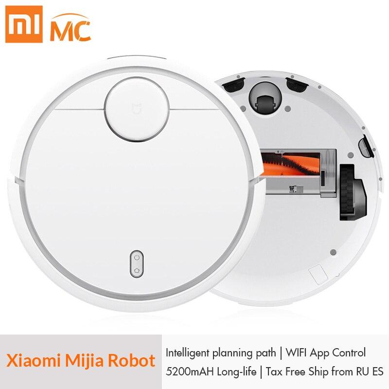 Originale XIAOMI Norma Mijia Aspirapolvere MIHome Smart Piano Tipo di Robot con Wifi App di Controllo e Carica Automatica per la Casa Spazzare polvere