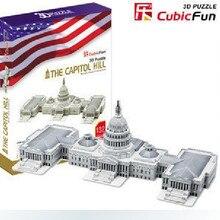 3D модели бумажные игрушки модель головоломки игры США Capitol mc074