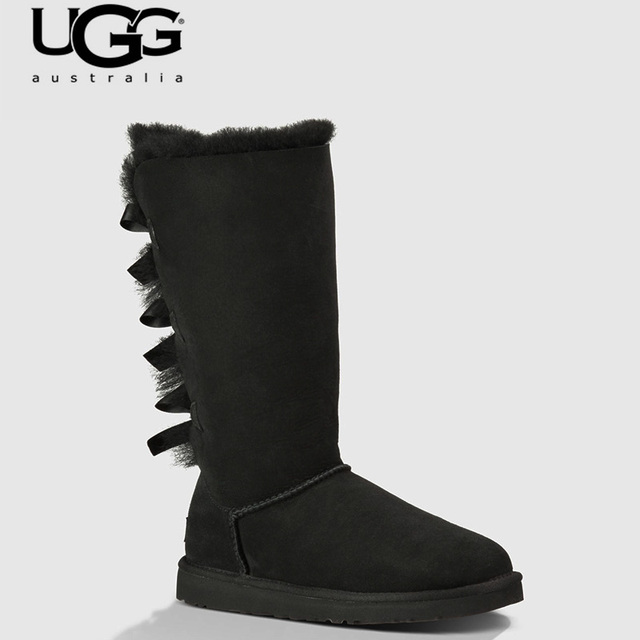 641a465e85a US $88.99 |2018 Original UGG Boots 1007308 Women uggs snow shoes Winter  Boots UGG Women's Leather Tall Snow ugged women boots classic-in Mid-Calf  ...