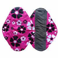 Women Hygiene Pad Reusable Washable Panty Liner Bamboo Cloth Mama Menstrual Feminine Plus Size Sanitary Nappy