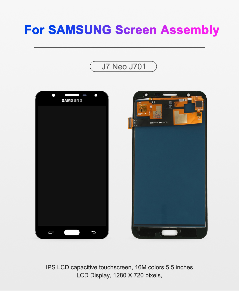 HTB175wUadzvK1RkSnfoq6zMwVXaF 5.5'' inch For SAMSUNG Galaxy J7 Neo LCD Display J701 J701F J701M J701MT Touch Screen LCD Assembly Replacement Parts