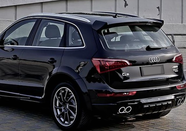 Fit for AUDI Q5 ABT modified carbon fiber rear wing with rear ...