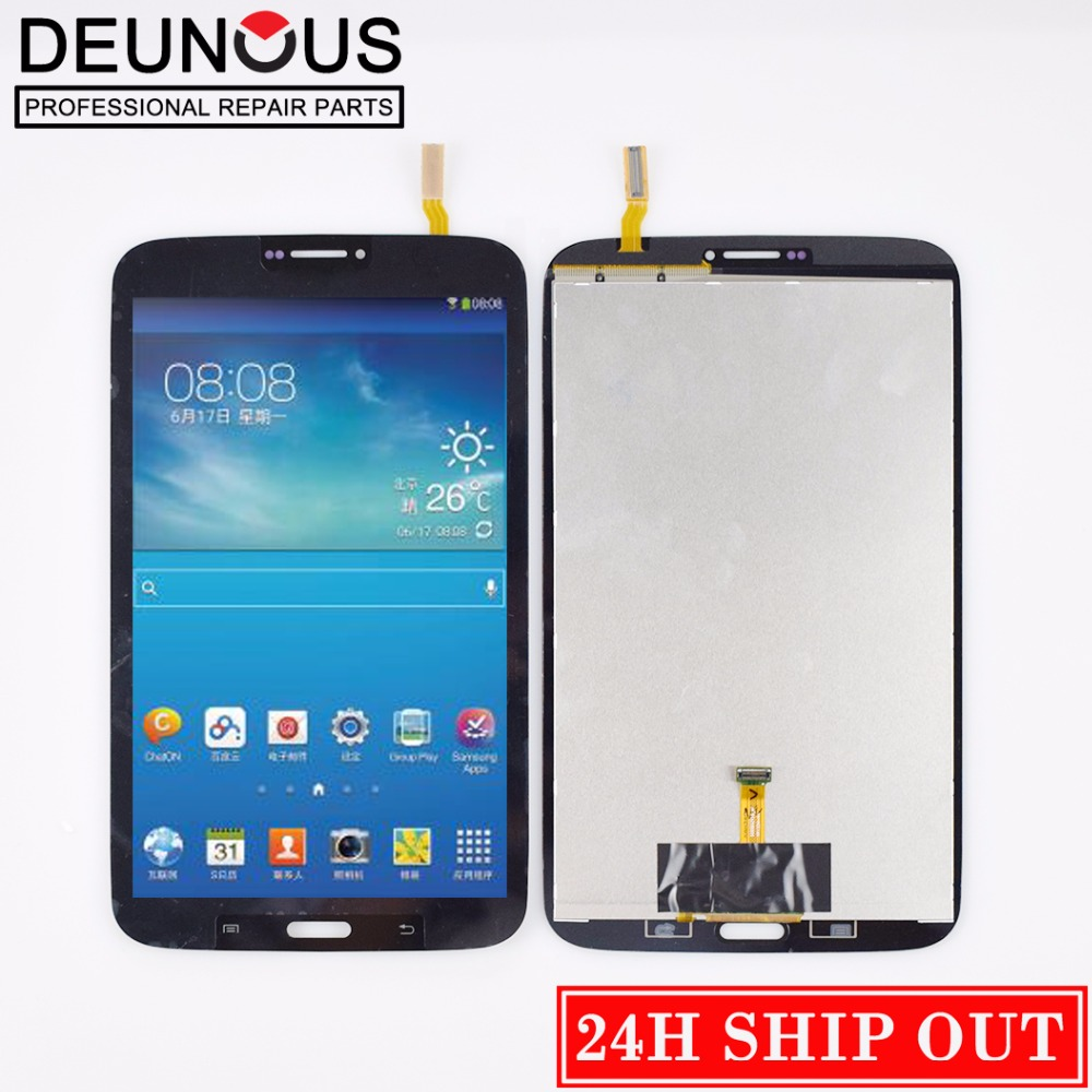 New 8'' inch For Samsung Galaxy Tab3 8.0 T310 T311 SM-T310 SM-T311 LCD Display and Touch Screen Digitizer Assembly with Frame for samsung galaxy s4 i9506 lcd touch digitizer screen frame bezel with free tempered glass and repair tools