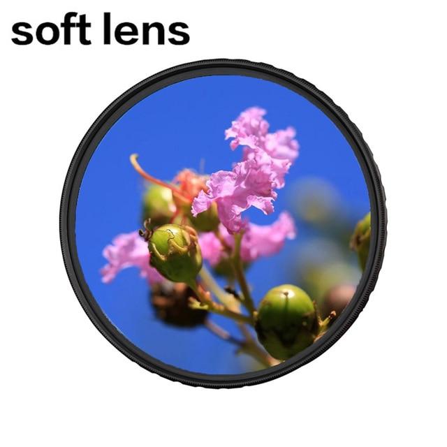 Zomei Kamera Filtre Softlens 52/55/58/62/67/72/77/82mm yumuşak odak lensi Filtresi Rüya Gibi Puslu Difüzör DSLR SLR Canon Nike Sony