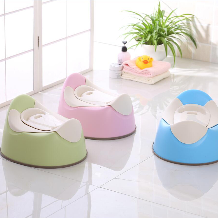 Moon Shape Comfortable Baby Potty Travel Size Baby Toilet Potty Training Children's Potty Cute Toilet Seat Infant Urinal New