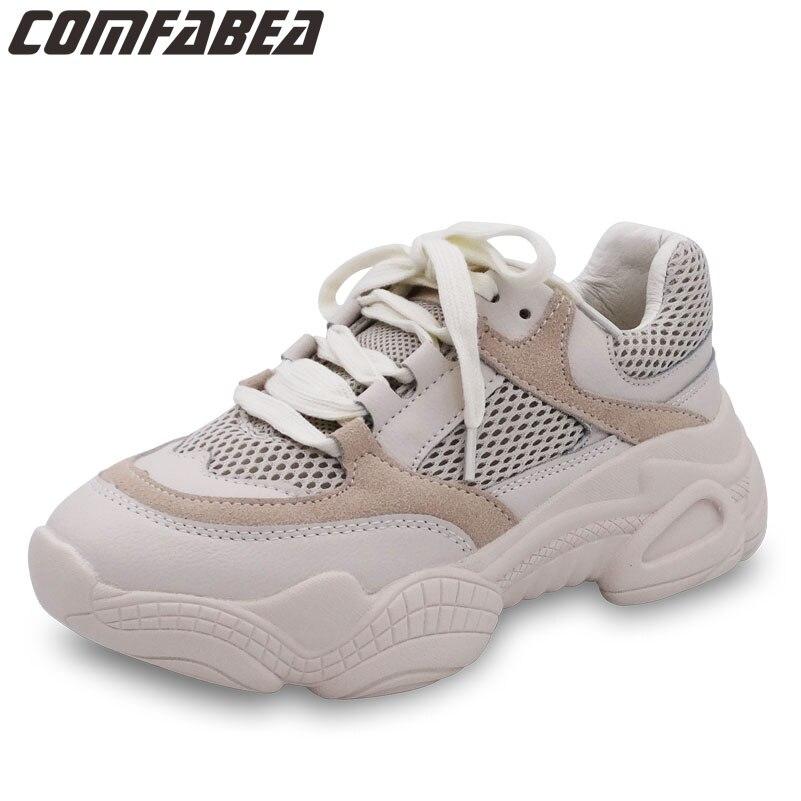 Para Zapatos Primavera Casuales 2019 Apricot Zapatillas De Deporte Mujer Las Cómodos Moda Malla Nueva Mujeres qWcFHpWO