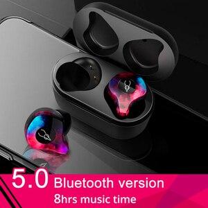 Image 1 - Оригинальные беспроводные наушники Sabbat 5,0, Bluetooth наушники, Спортивная Hi Fi гарнитура, гарнитура для режима «свободные руки», водонепроницаемые наушники для телефона Samsung