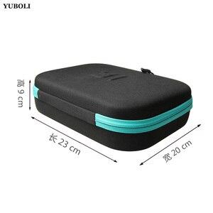 Image 2 - Yuboli portátil proteção à prova de choque coleção saco de armazenamento caso para gopro go pro herói 5 4 3 3 + sjcam xiaomi yi xiao yi 4k 2