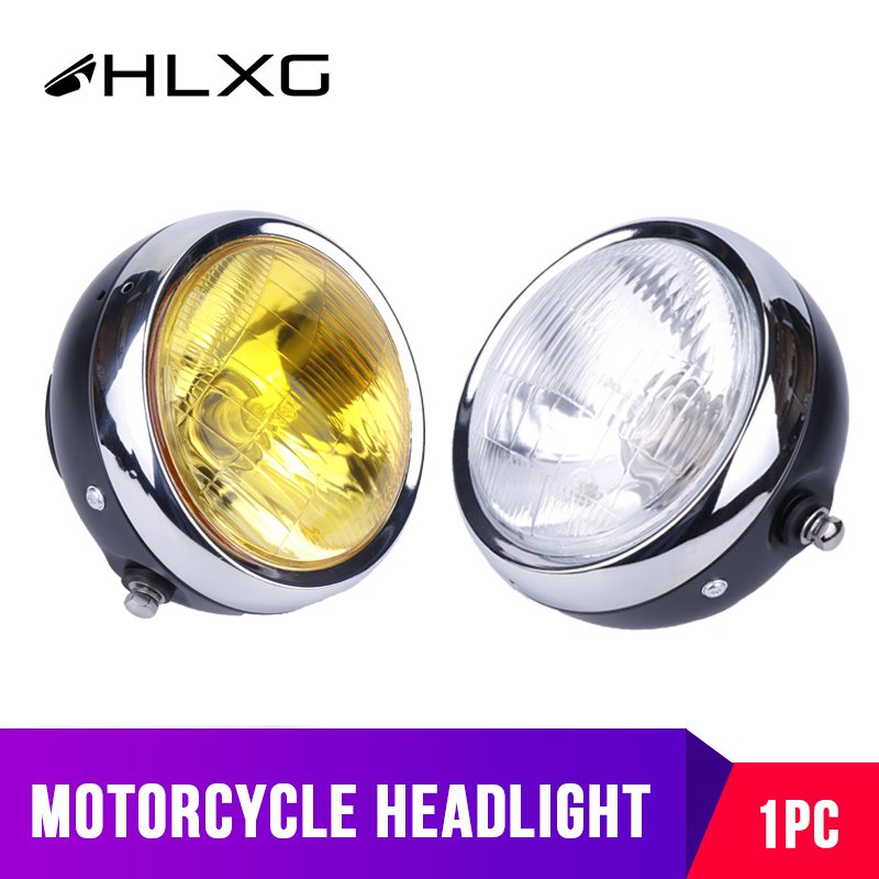 1PC Car Motorcycle Accessories LED Headlight Amber White Indicator lights luces led para moto Bike Replace Auto Bulbs HLXG 12V