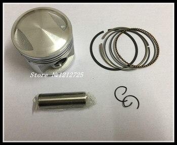 Motorcycle piston ring CG125 ZJ125 QJ125 ATV moto Piston assembly Piston diameter 56.5mm Piston pin 15mm Мотоцикл