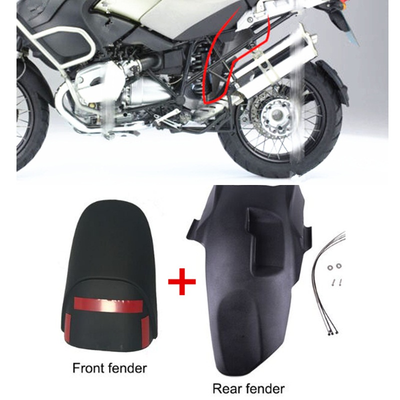 For BMW R1200GS Adventure 2005-2013 Motorcycle Accessories Fender Front and Rear Tire Hugger Motorcycle Mudguard motorcycle front