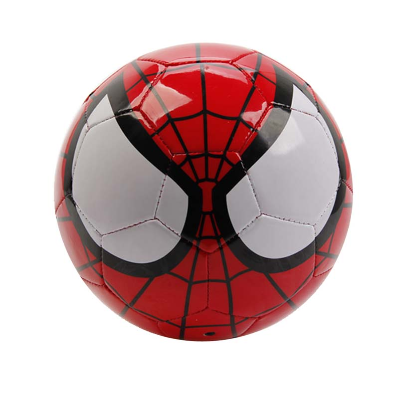 Joerex Spider Man Soccer Ball Size 3 Safe PVC Training Football Ball for Kids ...
