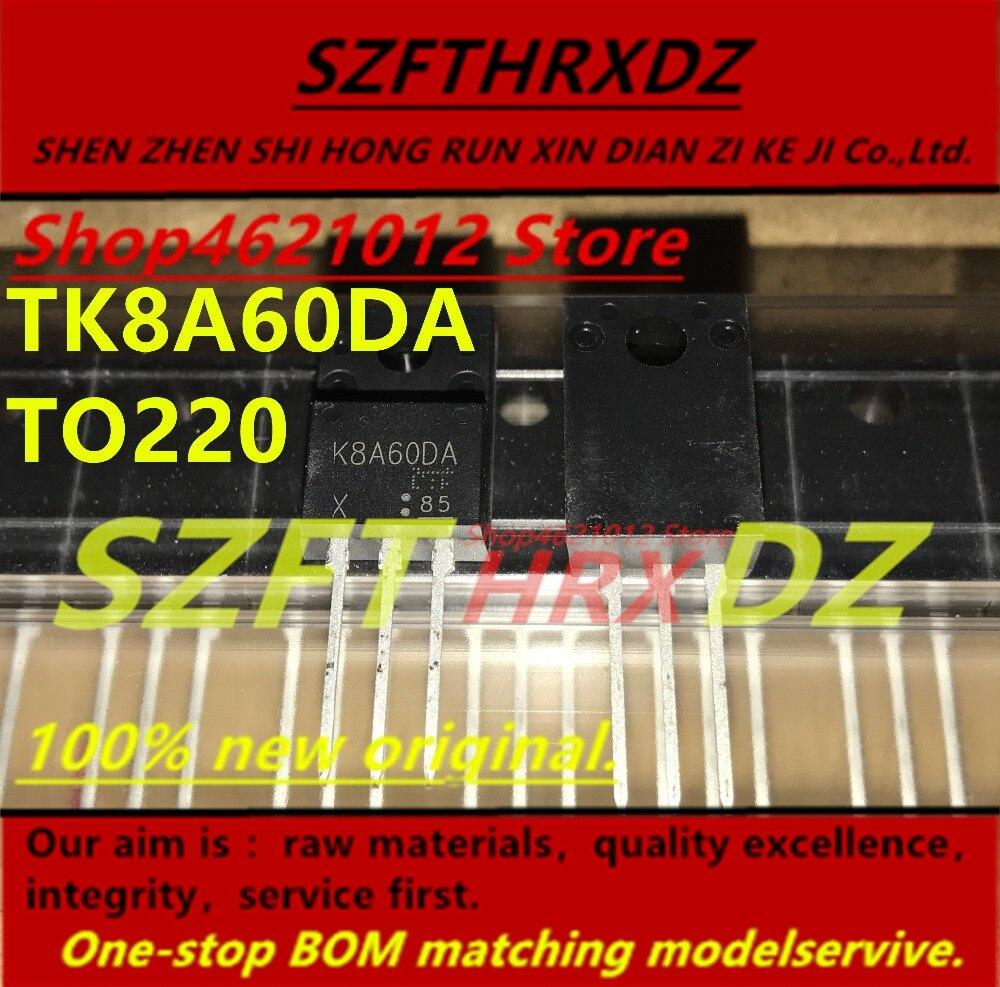 SZFTHRXDZ 100% Новый оригинальный (10 шт. 50 шт.) TK8A60DA K8A60DA 8A 600V TO220|Индукторы| | АлиЭкспресс
