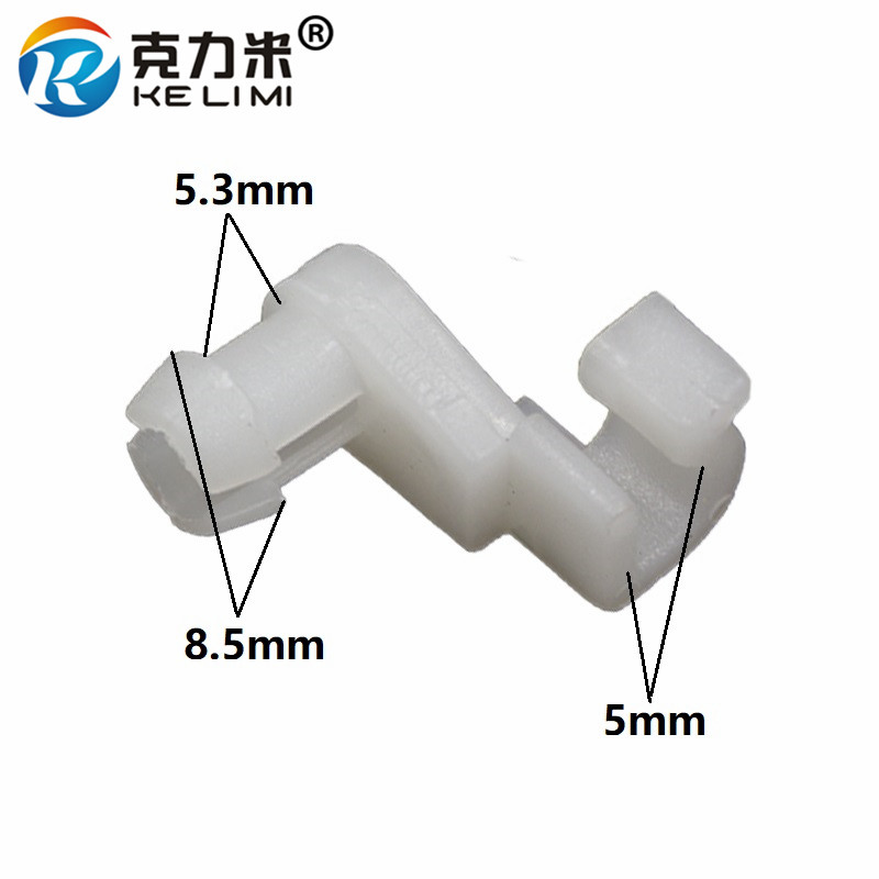 Ke Li Mi Door Lock Latch Rod 5mm Size Clip Nylon Retainer