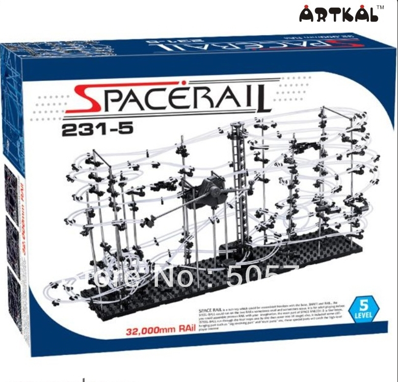 цены на free shipping 1pc spacerail bolck building 231-5 educational toys great fun puzzle game в интернет-магазинах