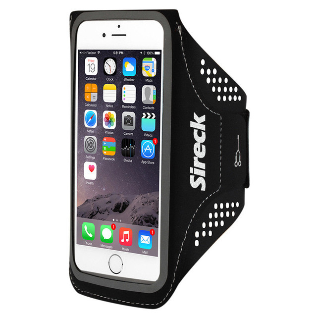 Sireck Running Bag Waterproof Sport Arm Bag 5.0'' 5.8'' Phone Case Fitness Gym Bag Jogging Arms Belt Pouch Running Accessories 3