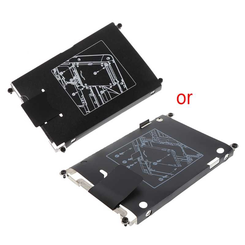 Hard Drive Caddy Tray HDD Bracket With Screws For HP EliteBook 820 720 725 G1 G2