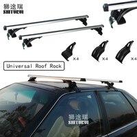 2 pcs Universal 135cm Car Roof Rock Cross Bars For Luggage Carrier Bike Rack Cargo Basket Roof luggage box Car 5502