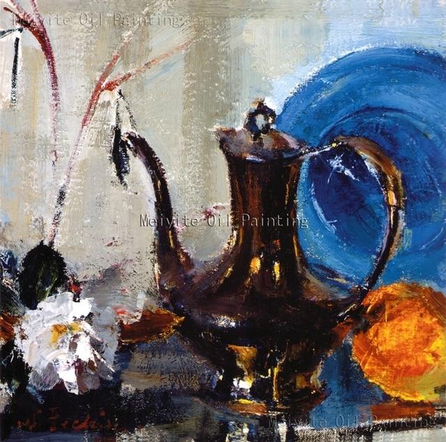 Kostenloser Versand Abstrakt Stillleben Malerei Auf Leinwand Küche