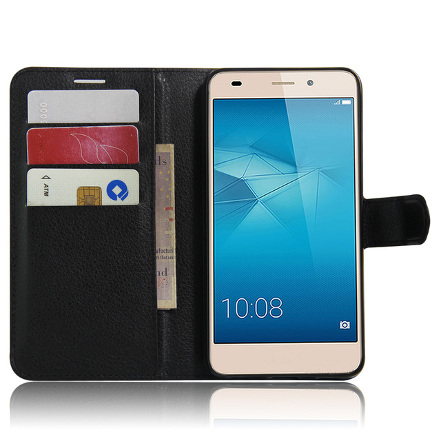 hot sale online 785f1 0480d US $4.48 10% OFF|Mobile Phone Fundas For Huawei GT3 Case Vintage Wallet  Leather Cover For Huawei GT3 Flip Cases Bag Shell Coque With Card  Holders-in ...