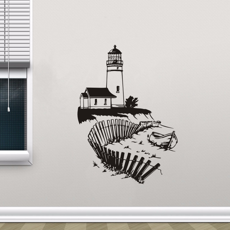 Decor, Removable, Nautical, Seaside, Vinyl, Decal