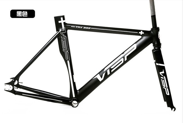 free shipping Bicycle super fixed gear frame visp999 48/51/54/58 ...