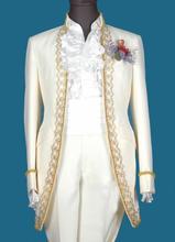 Blazer men formal dress latest coat pant designs tuxedo suit men white trouser lace wedding suits for men's stand collar