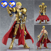 NEW Anime Fate/Stay night Fate Grand Order Archer Gilgamesh Figma 300 PVC Action Figure Collection Model Kids Toys Doll 16cm