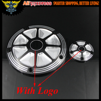 Motorcycle CNC Deep Cut Derby Timer Cover Timing Covers For Harley Softail Dyna FLHRS FLTFB Road