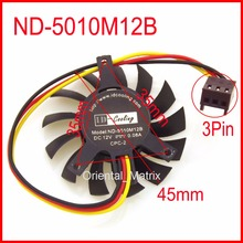 ID-Cooling ND-5010M12B T125010DL 12V 0.08A 45mm 35x35x27mm For Graphics Card Cooling Fan
