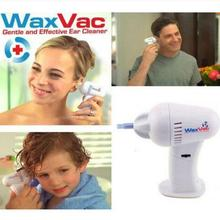 WAXVAC VACUUM EAR CLEANING SYSTEM CLEAN EAR WAX VAC AS SEEN ON TV ears care removal tool earpick cleaner ear pick free shipping