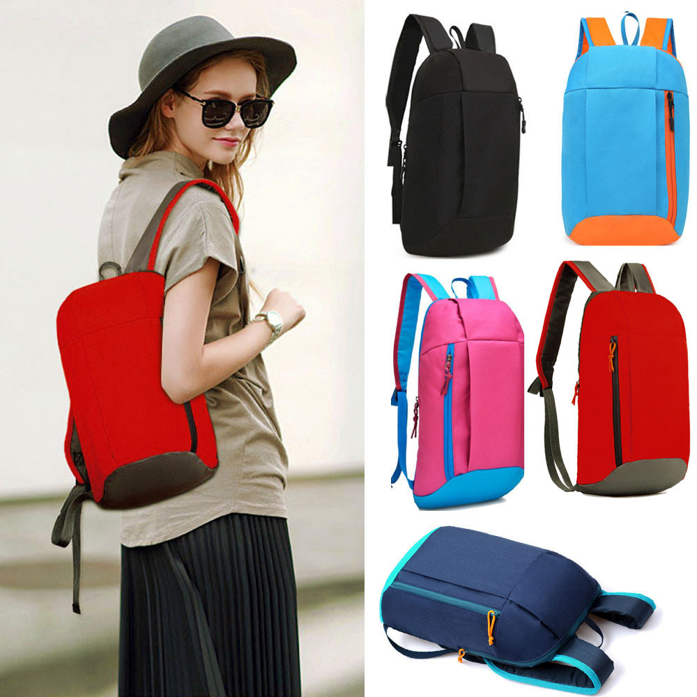 Fashion Shoulder Bags 2019 Sports <font><b>Backpack</b></font> Hiking Rucksack Men Women <font><b>Unisex</b></font> Schoolbags Satchel Bag image